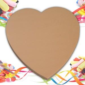 support polystyrène coeur