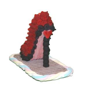 L'élégante, cette chaussure en bonbons en forme d'escarpin