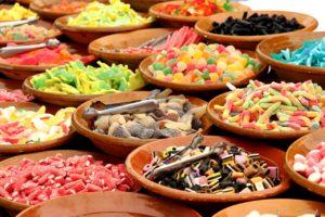 étalage de bonbons